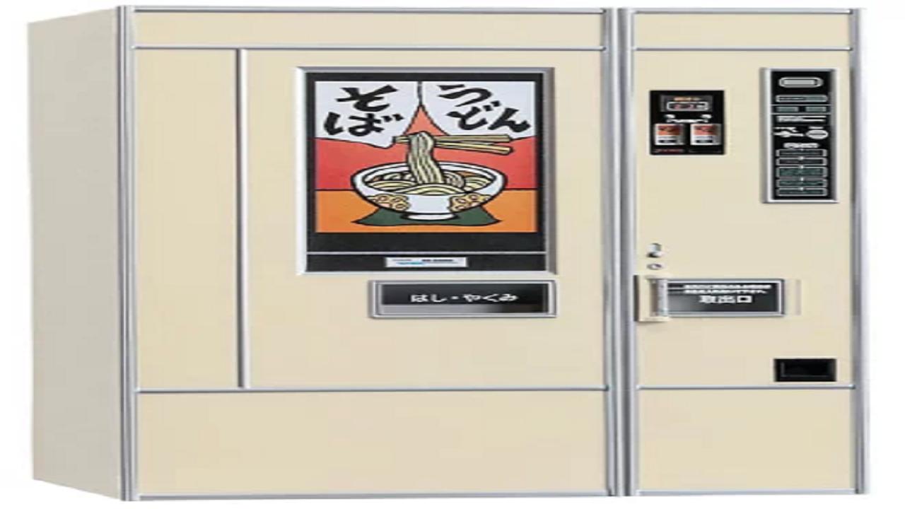 レトロ自販機(うどん・そば) 1/12 プラモデル